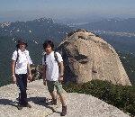 北漢山 白雲台 プッカン山 ペグゥンデ 登山