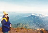 インドネシアの山  アグン山登山 3140m