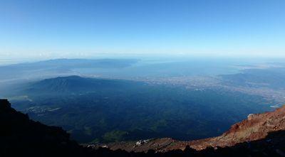 富士登山添乗しました。