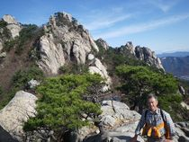 道峰山2 登山