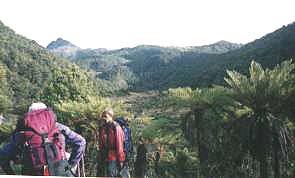 ウイルヘルム山 登山