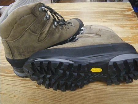 登山靴 修理 メンテナンス