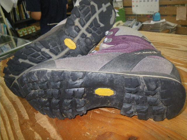 登山靴 修理 ソール交換
