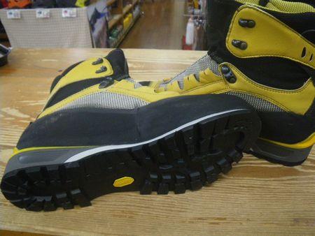 登山靴 修理 靴底張替え