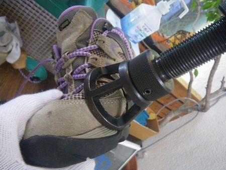 ウォーキング靴 修理 幅拡げ