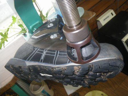 登山靴 修理・サイズ調整