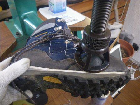登山靴 サイズ調整 幅拡げ修理 20・1・31
