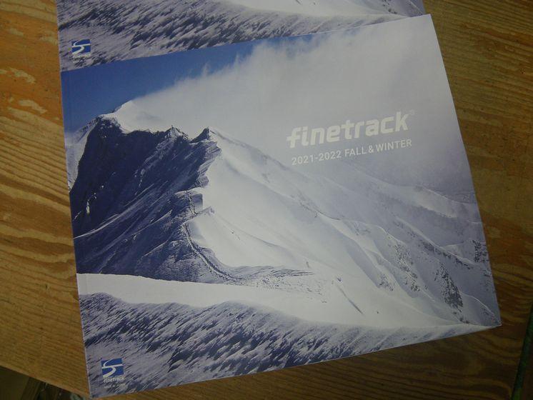 ファイントラックの秋冬カタログが届きました